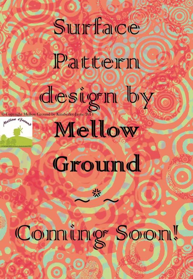 Print and Pattern Surface Design by Mellow Ground available for license.